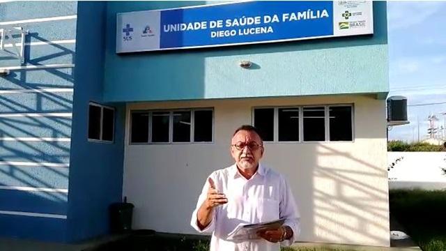 Vereador Zé Gonçalves visita UBS da Vila Mariana e solicitará melhorias à Secretaria de Saúde de Patos.