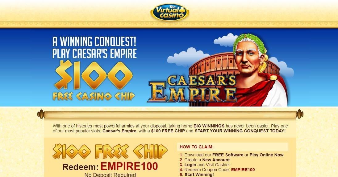 The virtual casino no deposit bonus codes