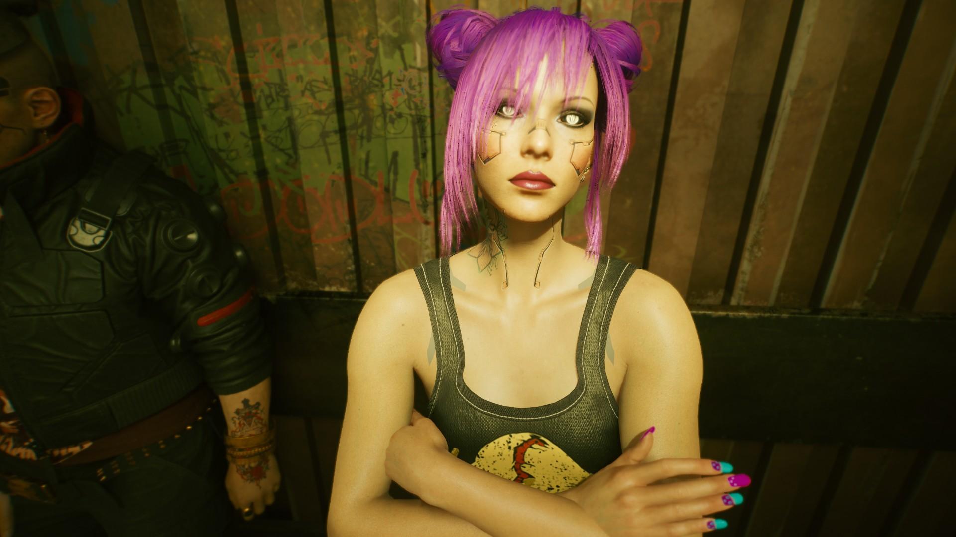 Cyberpunk 2077 Female Nomad V: Game Saves