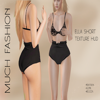 Ella Short: SL Frees & Offers group gift from MUCH FASHION