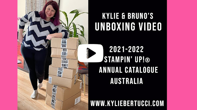Kylie and Bruno's Stampin' Up!® Unboxing Video New Products