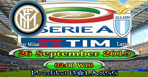 Prediksi Bola855 Inter Milan vs Lazio 26 September 2019