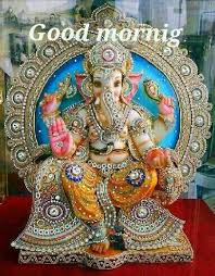 Gud Morning Wallpaper With Quotes In Hindi Whatsapp Good Morning With Lord Ganesha