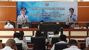 Forum Konsultasi Publik Penyusunan Rancangan Awal RKPD Kabupaten Way Kanan Tahun 2022