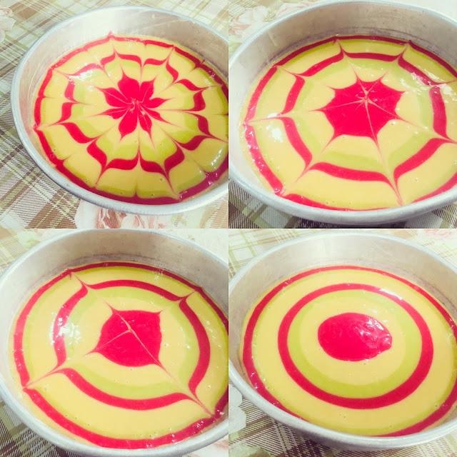 resepi kek minyak susu yang moist dan sedap