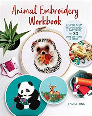 Animal Embroidery Workbook giveaway