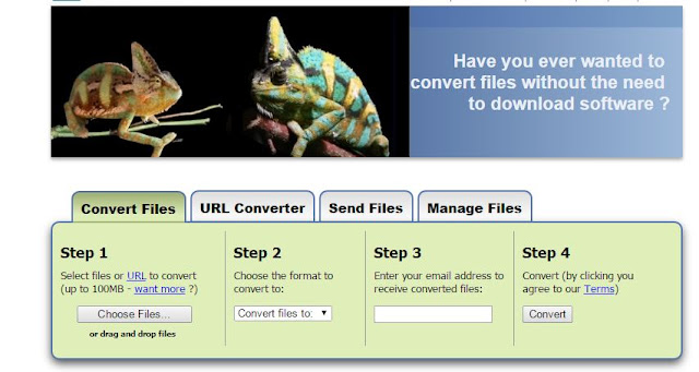 Zamzar.com for Converting Files Online