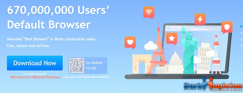 Maxthon Fast And Secure Browser ডাউনলোড করে নিন Andorid কিংবা PC Version
