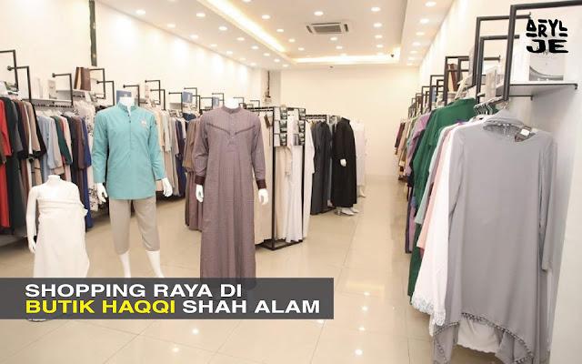 Shopping Sakan Di Haqqi Shah Alam - Selain Kelengkapan Ibadah, Ada Baju Raya Jugak Rupanya…