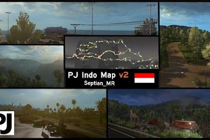 PJ Indo Map v2.5 - ETS2 V1.31 - V1.32