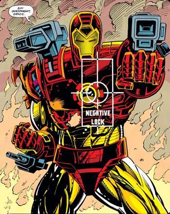Una de las muchas armaduras canónicas de Iron Man