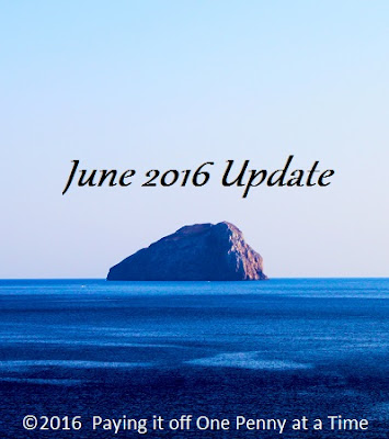 June 2016 Update--Paying it off One Penny at a Time