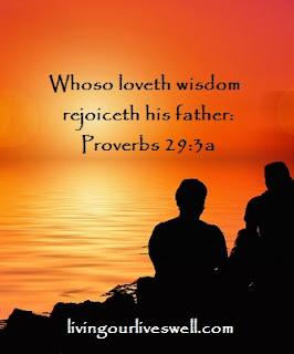 Proverbs 29:3a