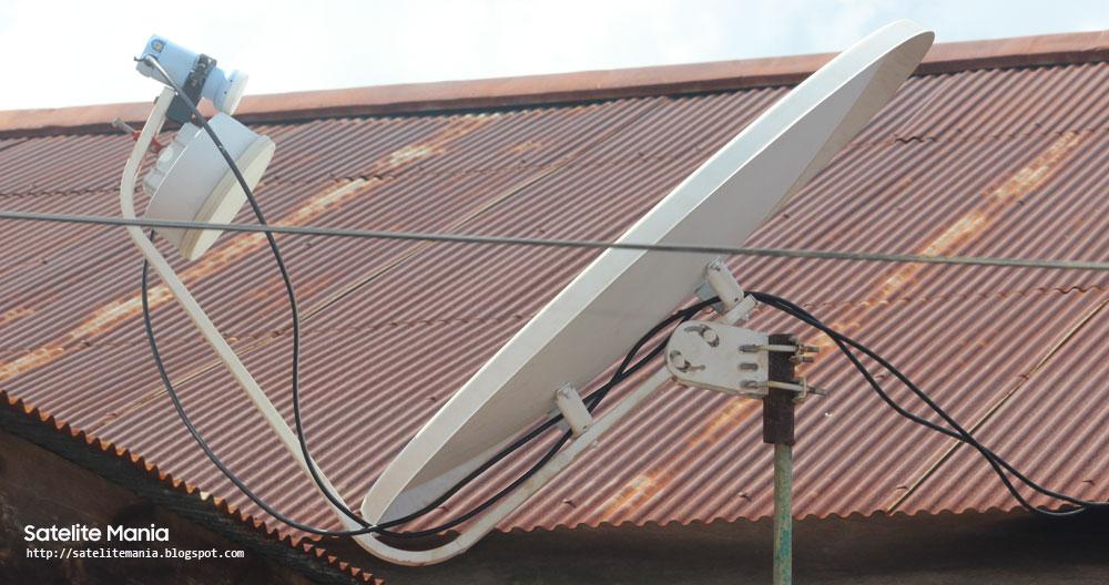 Cara Mencari Frekuensi Parabola Ninmedia bersamaan dengan Indovision