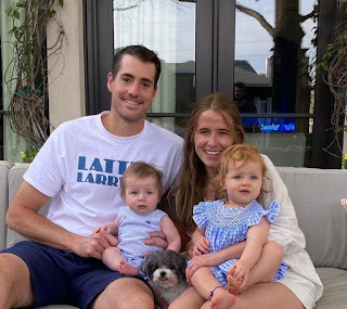 Family Photo Of John Isner And His Wife Madison Mckinley