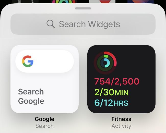 أضف عنصر واجهة النشاط إلى iPhone