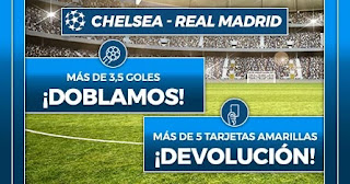 Paston promo Chelsea vs Real Madrid 5-5-2021