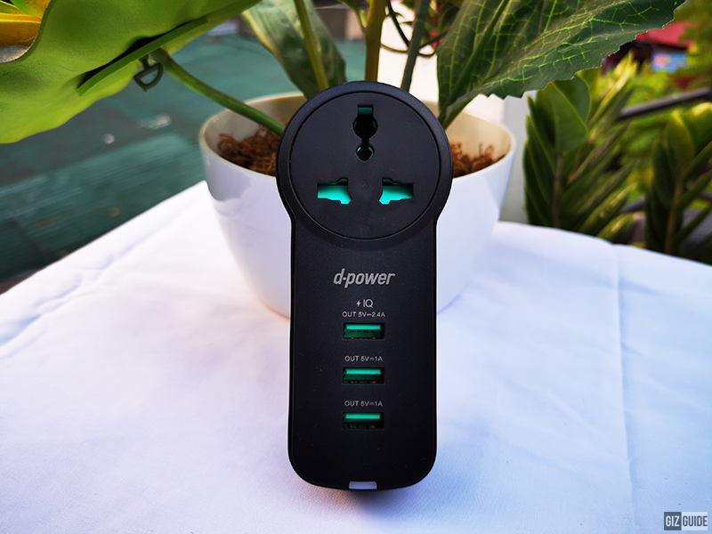 d-power AC02 rotating wall charger