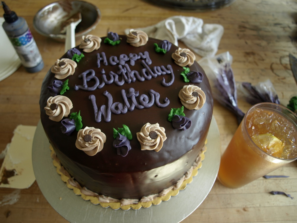 Happy Birthday Walter Cake
