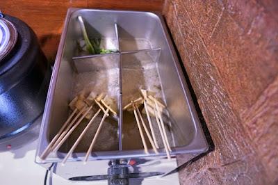 Korean fish cakes on a stick in Cebu