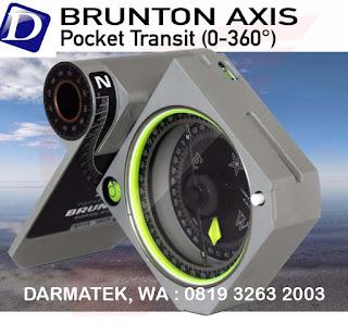 BRUNTON AXIS 5012 I Kompas Saku Transit Jual Cepat