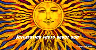 Interesting facts about sun
