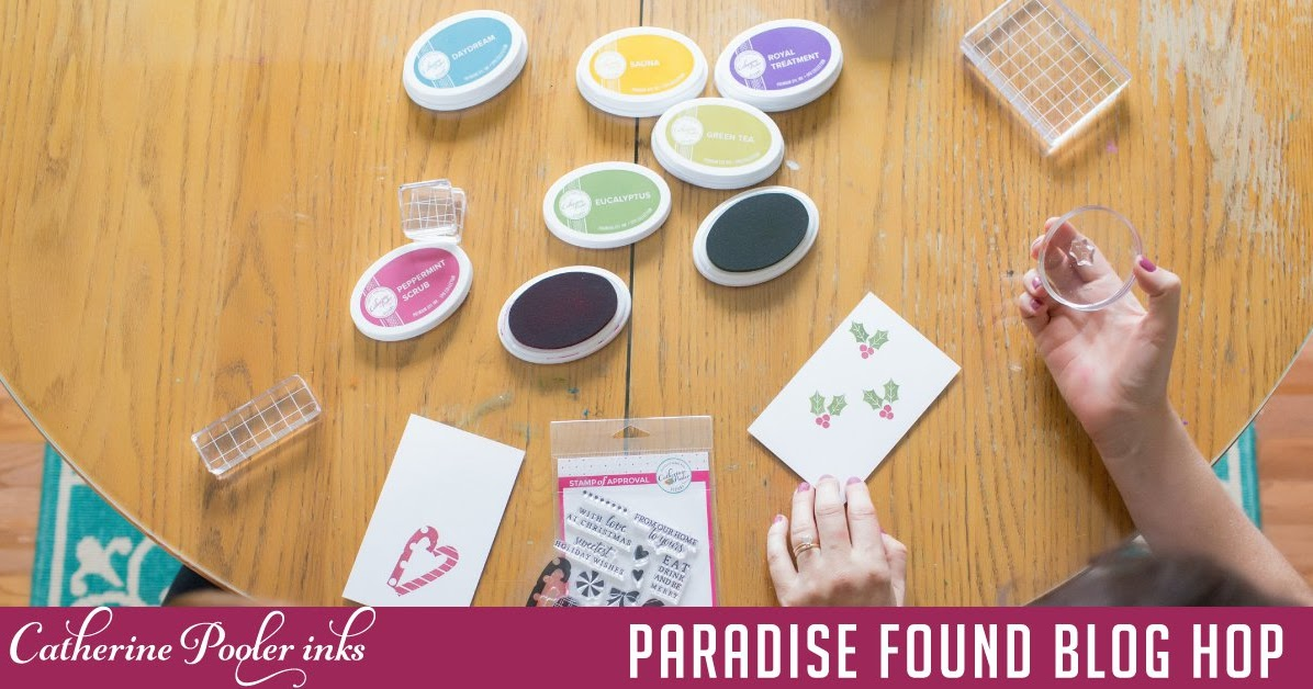 Art♥from♥the♥Heart: {Catherine Pooler Designs} Paradise ...