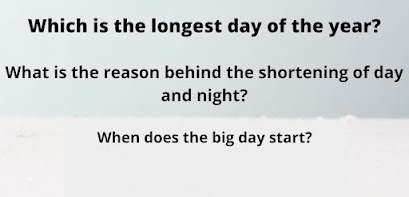 Which is the longest day of the year?