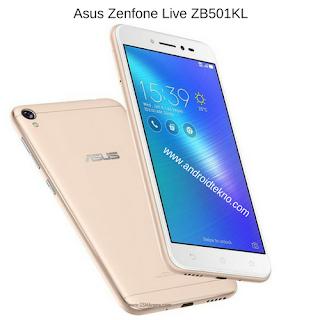 Harga dan Spesifikasi Asus Zenfone Live ZB501KL