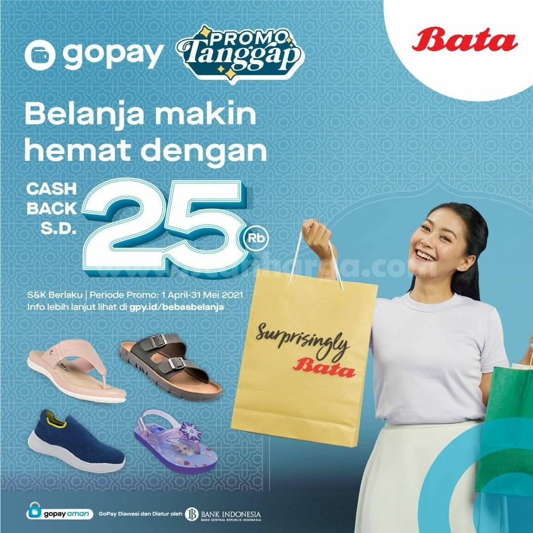 BATA Promo Tanggap GOPAY Cashback hingga 25%