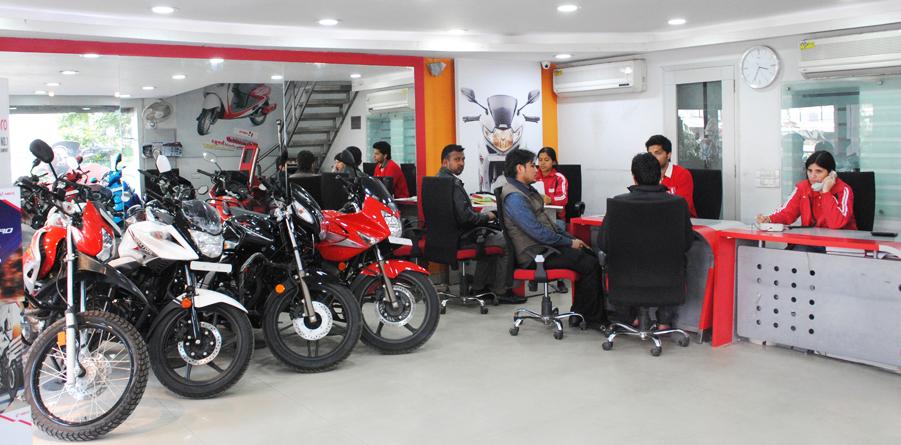 Honda Dealer Near Me >> The Hero MotoCorp Showrooms Blog in india