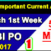March 1st Week Current Affairs   Important 50 MCQs   PDF -1