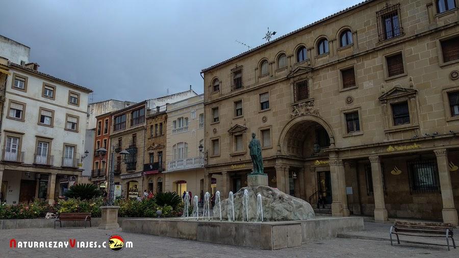 Plaza Andalucía, Úbeda