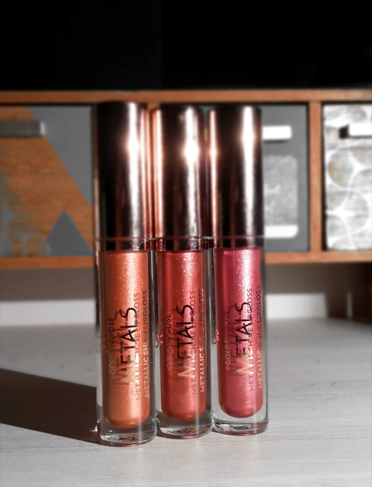 Metals Metallic Shine Lipgloss de Golden Rose