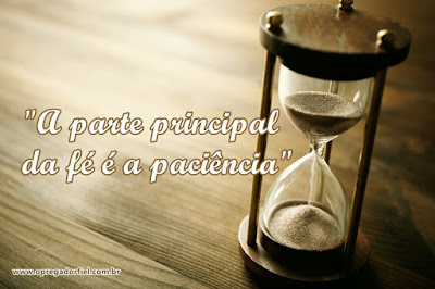4 razões para ser paciente