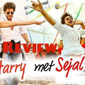 REVIEW; FILM INDIA JAB HARRY MET SEJAL