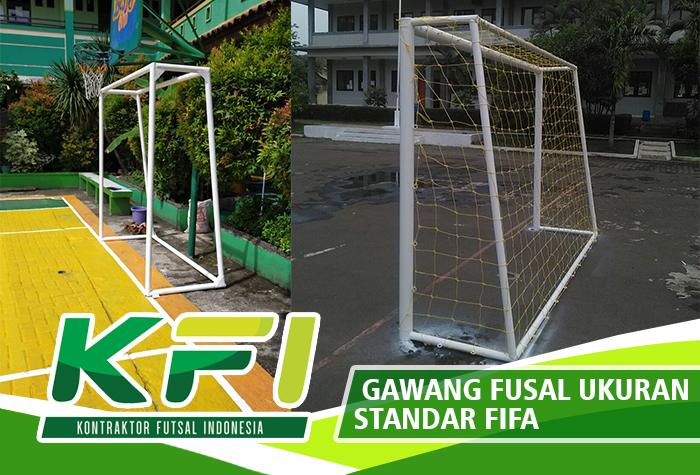 Gawang Fusal Ukuran Standar FIFA