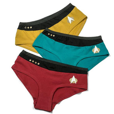 Star Trek TNG Uniform Underpants