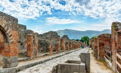 Κλοπή από έκθεση στην Πομπηία