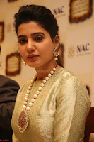 Samantha Ruth Prabhu in Cream Suit at Launch of NAC Jewelles Antique Exhibition 2.8.17 ~  Exclusive Celebrities Galleries 010.jpg