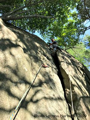 sport lead, redrocks, gloucester, rock climbing, slab climbing