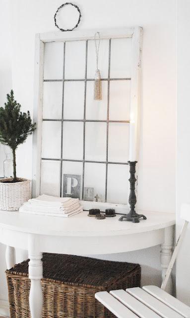 Recibidor blanco y delicado decorar tu casa es for Foro de decoracion facilisimo