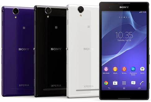 Sony Xperia T2 Ultra and T2 Ultra dual phablets announced