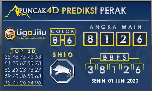 PREDIKSI TOGEL PERAK PUNCAK4D 01 JUNI 2020