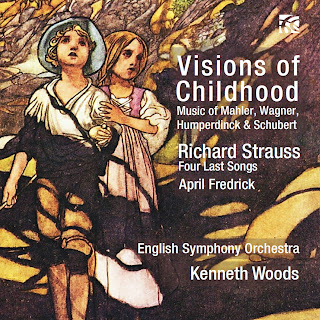 Visions of Childhood - Mahler, Wagner, Humperdinck, Schubert, Richard Strauss; April Fredrick, English Symphony Orchestra, Kenneth Woods; Nimbus Alliance