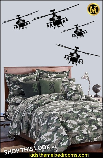 Military Helicopter Wall Decals  ARMY Camouflage bedding camo bedding army bedrooms  Military Helicopter Wall Decals  Camouflage bedding  Army Theme bedrooms - Military bedrooms camouflage decorating  - Army Room Decor - Marines decor boys army rooms - Airforce Rooms - camo themed rooms - Uncle Sam Military home decor - military aircraft bedroom decorating ideas - boys army bedroom ideas - Military Soldier - Navy themed decorating