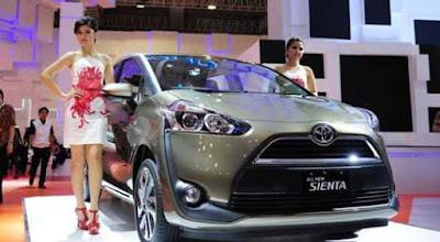 Kisaran Harga Toyota Sienta terbaru Kelas MAV