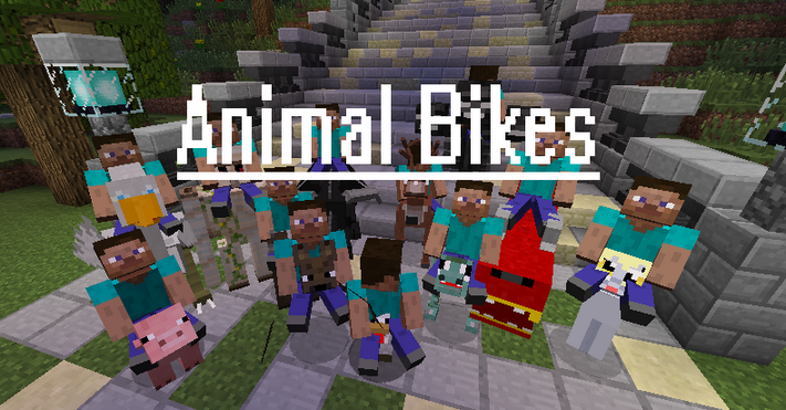 Animal Bikes para Minecraft 1.8/1.8.8/1.8.9