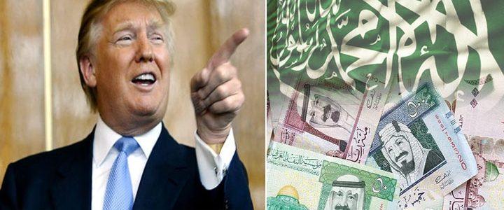 بعد فوزه دونالد ترامب يهاجم السعودية بكلام خطير