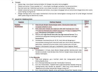 RPP K13 Format 1 Lembar Kelas 3 SD Semester 1